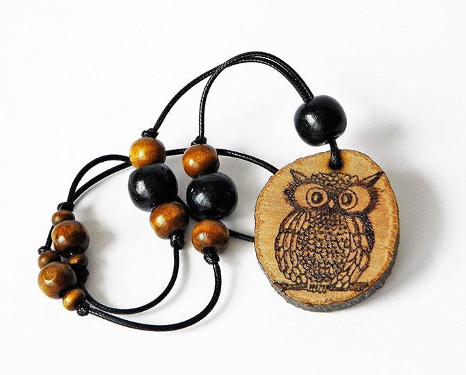 Колие Owl