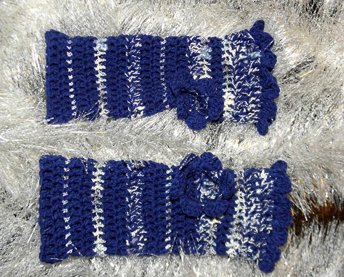 Ръкавици Friendly blue